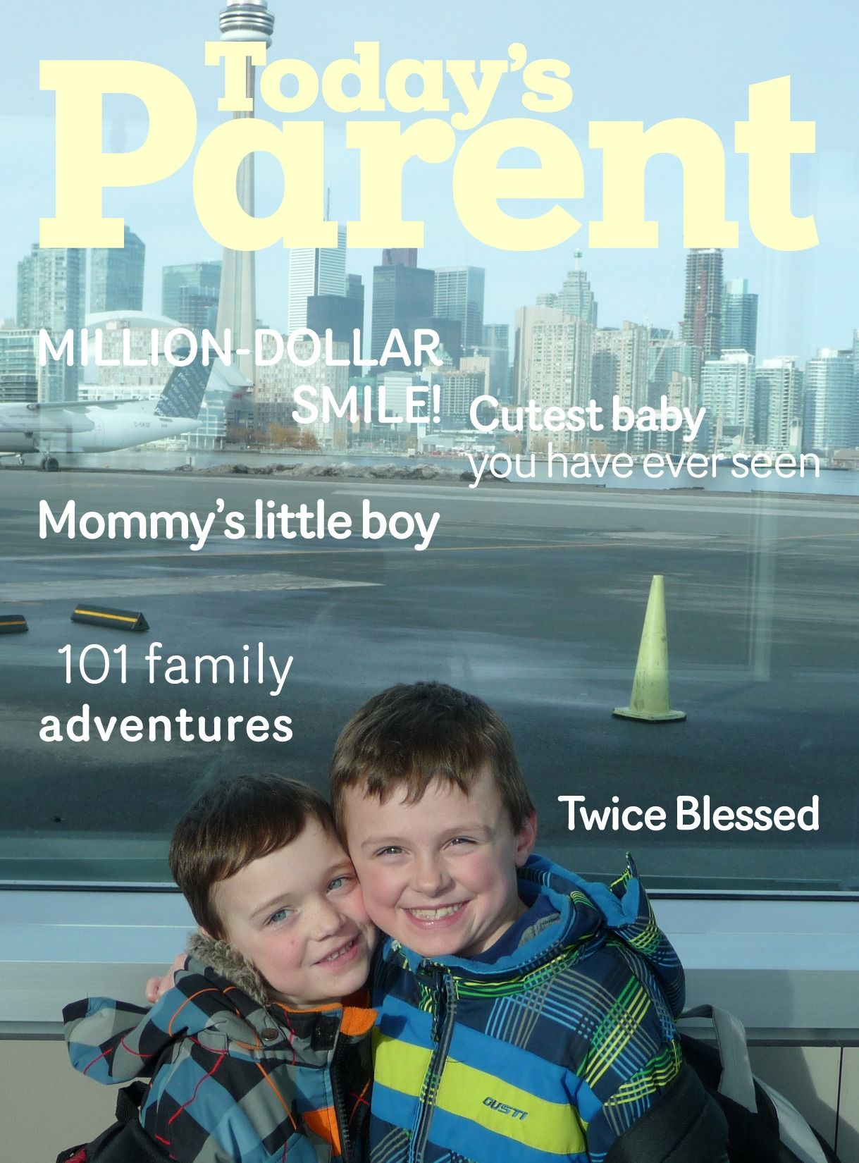 Today's Parent Covertool - Look Who's on the Cover of Today's Parent!