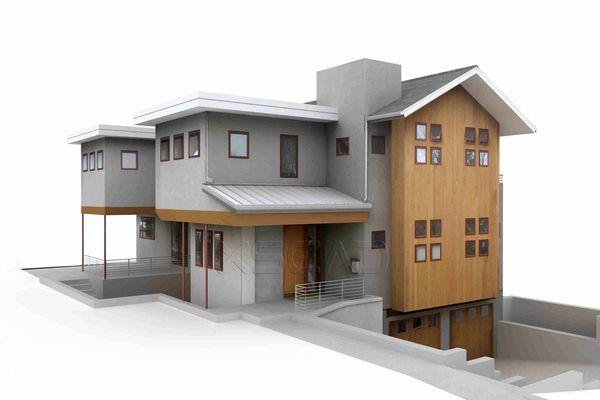 house model 3d models pinterest architecture. Black Bedroom Furniture Sets. Home Design Ideas