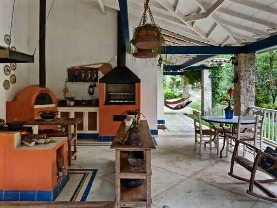 Cocinas Rusticas De Campo Cocinas Rusticas Fotos De Cocinas - Cocinas-rusticas-de-campo