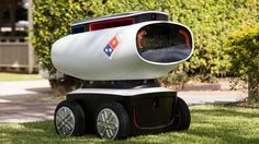 Domino's unveils a self-driving robot to deliver your pizza