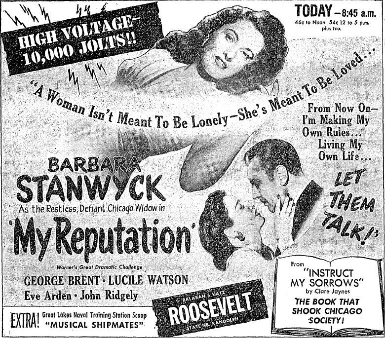March 28 1946 Lake Forest Widow Stanwyck Scandalizes The North Shore The Book That Shook Chicago Society Written Barbara Stanwyck Chicago Chicago Tribune