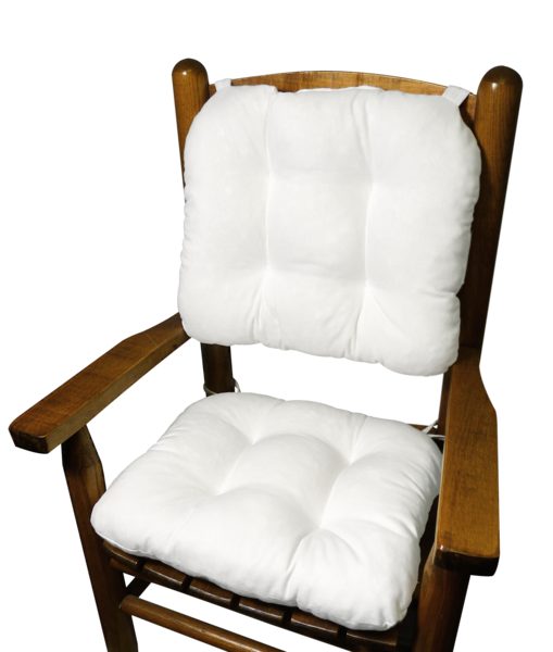Stupendous Child Rocking Chair Cushions Cotton Duck White Made In Andrewgaddart Wooden Chair Designs For Living Room Andrewgaddartcom