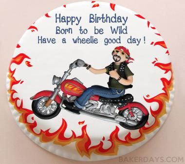 Motorbike Birthday Cake With Images Motorcycle Birthday