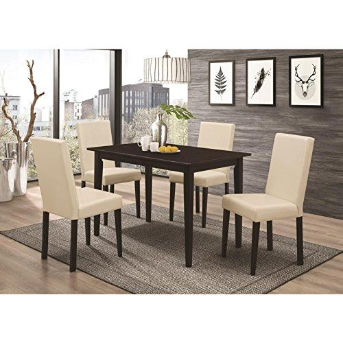 83f98db721 MyEasyShopping Dining Set Table Chairs Century Room Mid Furniture ...