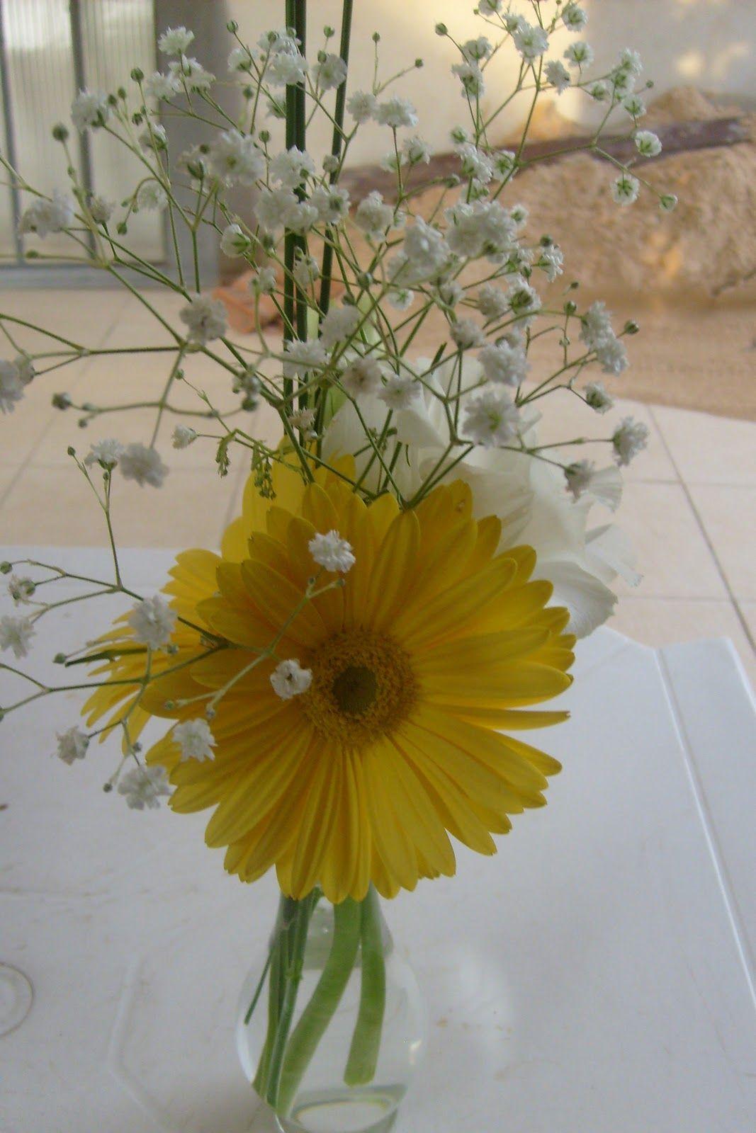 Resultado De Imagem Para Arranjos Florais Com Flores Amarelas E
