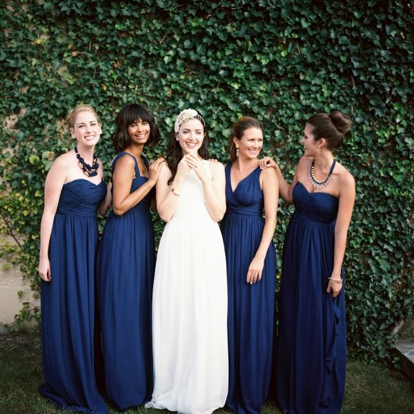 Navy Bridesmaid Dresses By Donna Morgan This Is Cute