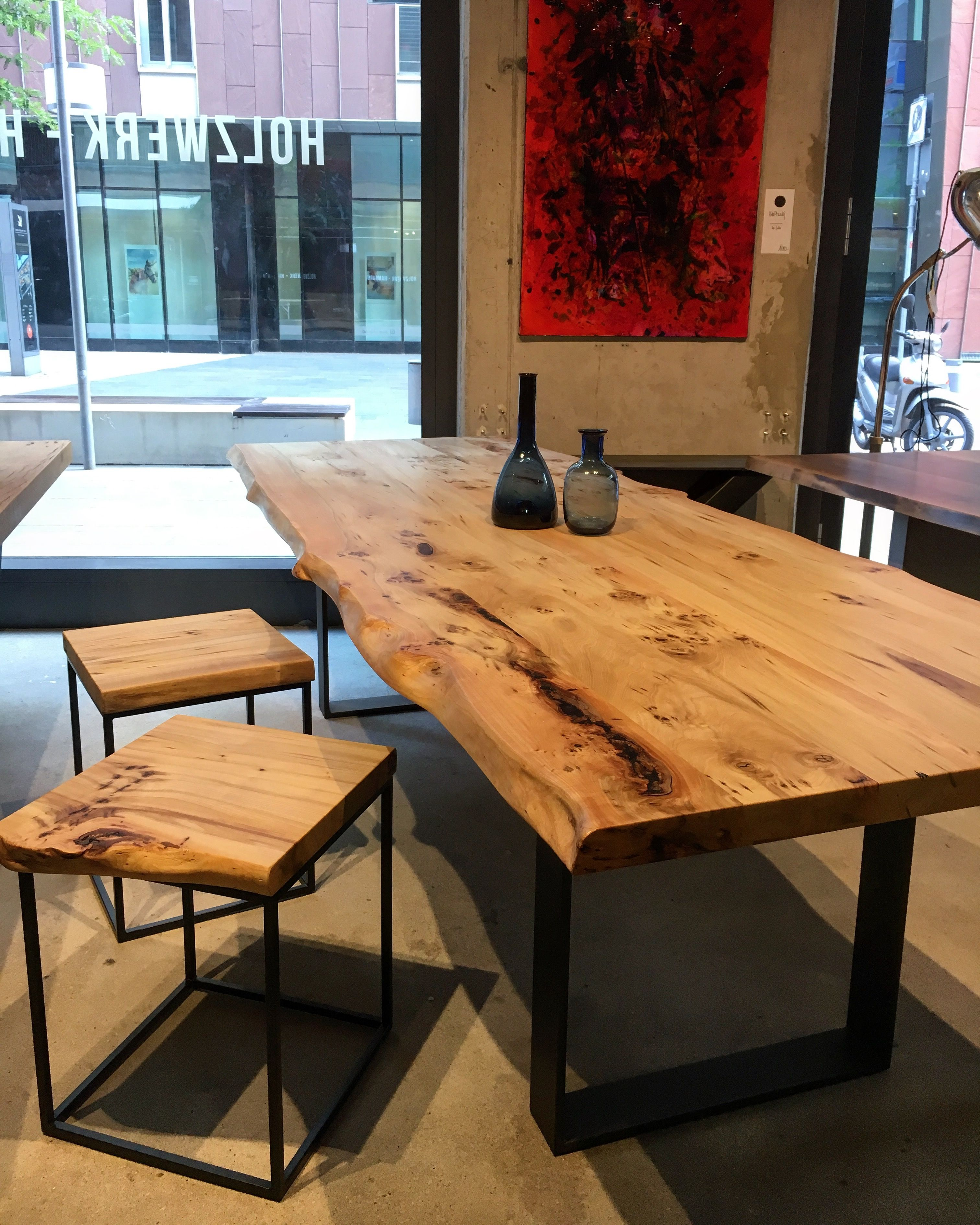 Tisch Auf Mass Esstisch Massiv Holz Www Holzwerk Hamburg De Esstisch Holz Massiv Holztisch Esstisch Esstisch Holz