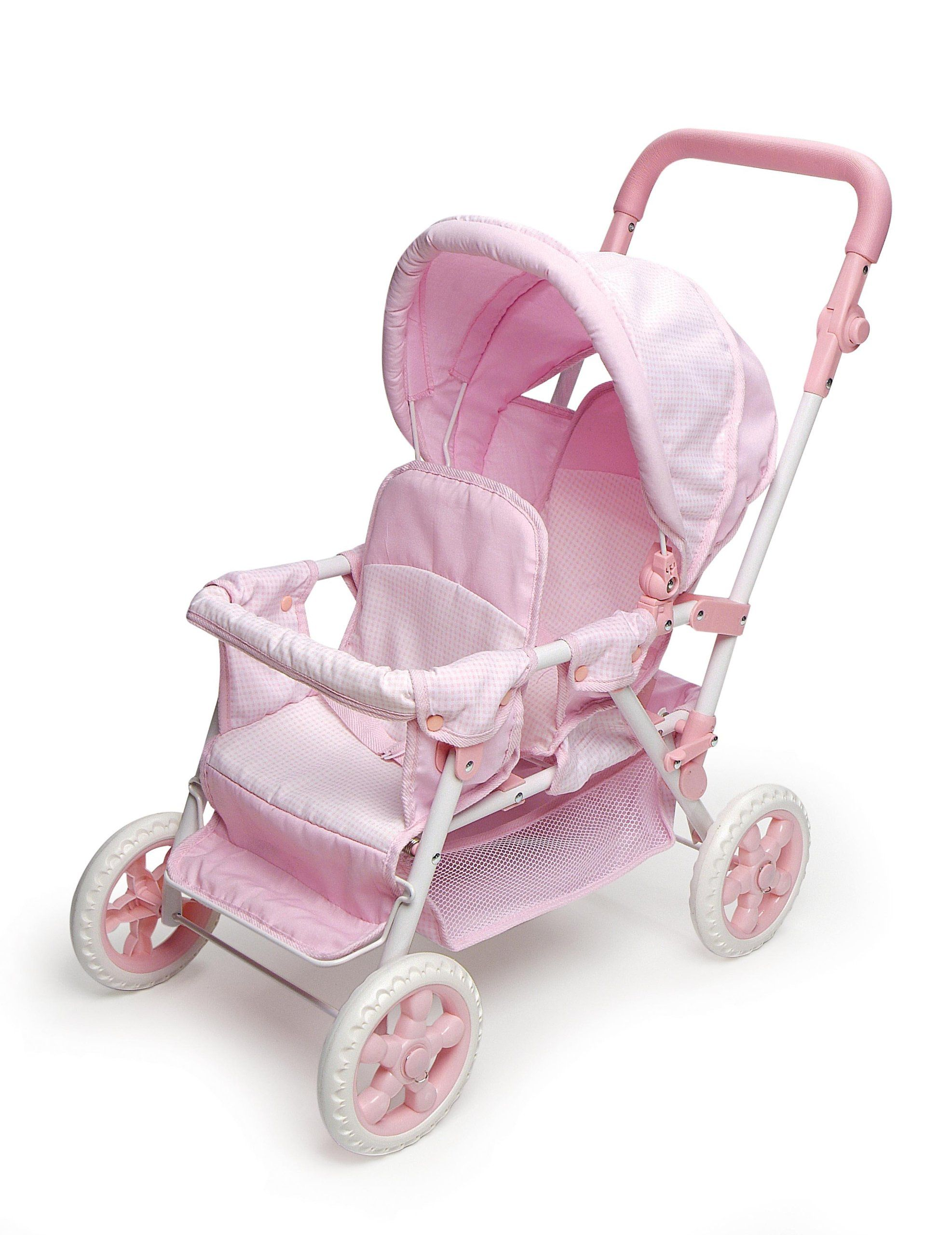 Double FronttoBack Doll Stroller Toys