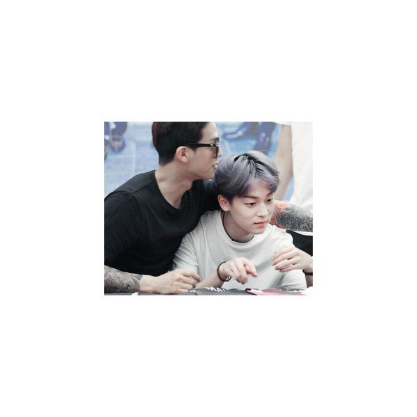 maknae & leader | via Tumblr | We Heart It via Polyvore