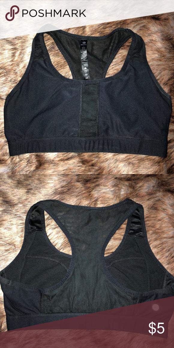 844bc4dd55 Black Mesh Sports Bra racerback sports bra with mesh back 90 Degree By Reflex  Intimates
