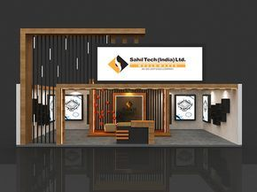 Property Exhibition Booth : Sahil developer property exhibition on behance stall