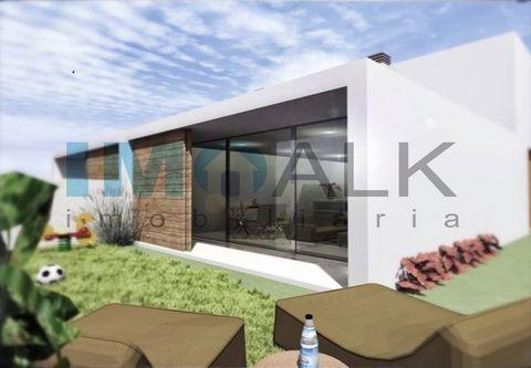 Villa neuve et luxueuse à construire à Luz de Tavira en Algarve A