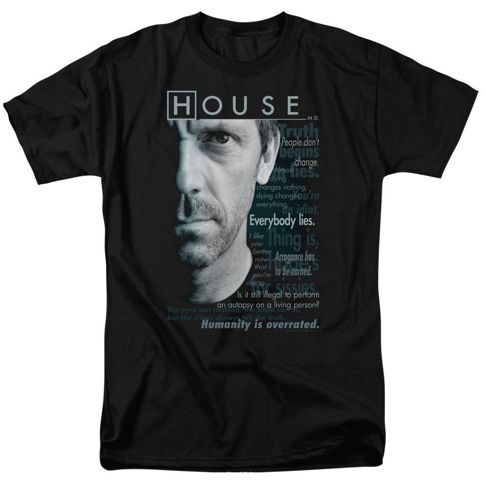 House Shirt Hit It Adult Ringer T