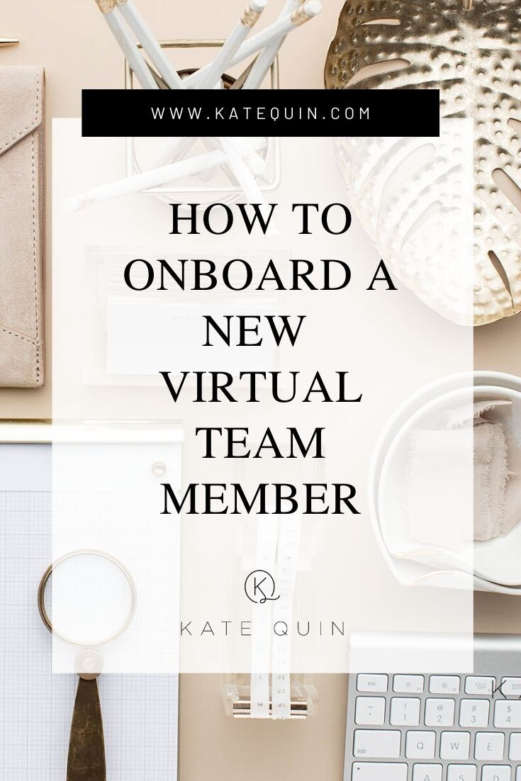 How to onboard a new remote team member kate quin team