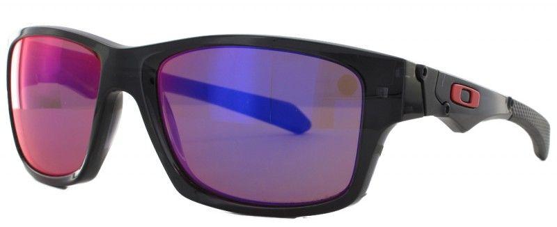 ecab92f5e9a70d Modèle Oakley Jupiter Squared Polarisante OO9135 noir, lunette de soleil  équipée de verres en plutonite de catégorie 3.