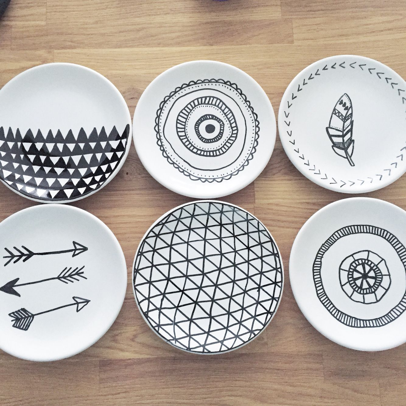 Diy porcelain plates idee n pinterest porcelain for Diy ceramic plates