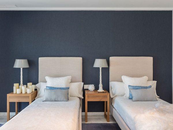 Nuevo Estilo Diseño Y Arquitectura Habitación Con Dos Camas Dormitorios Camas Individuales