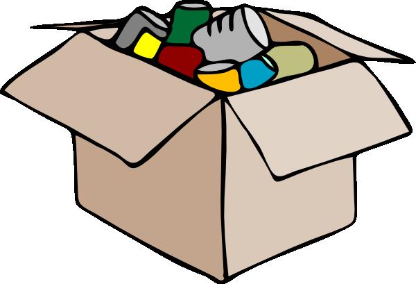 Food Bank Clip Art Cardboard Box Clip Art House Shifting Moving Company Packing To Move