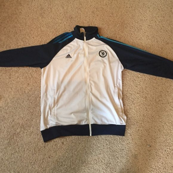 big sale 0a035 f7ef3 Adidas men's Chelsea warm up jacket Barely used. Great ...