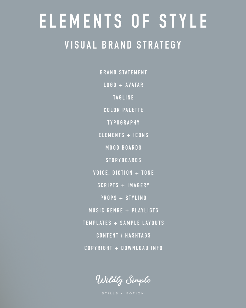 Brand Design Elements Of Style Elements Of Style Style Guide Design Branding Design