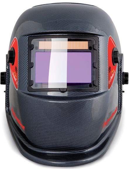 VarioProtect® XL Carbon hitsausmaskissa on säätömahdollisuudet tummudelle ja herkkyydelle. Maski on erittäin kevyt ja sitä on mukava käyttää. Maskin hyväksynnät CE EN379 & EN 175. Tummuus DIN 9-13, reaktioaika: 1/30000s, paino 480g, katselualue: 98x55mm.