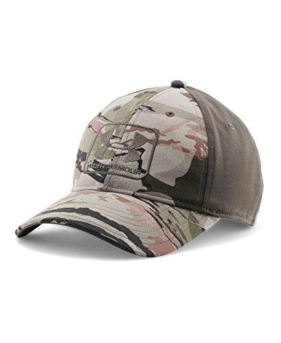4bb859cdcd7 Under Armour Men s UA Camo Stretch Fit Cap Combo Medium  amp  Large RIDGE  REAPER®