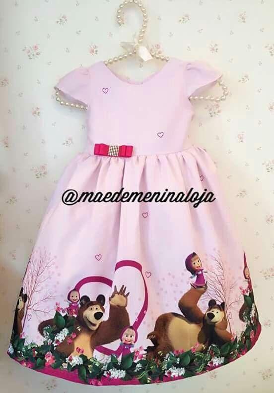 Vestido Masha E O Urso En 2019 Vestido De Masha