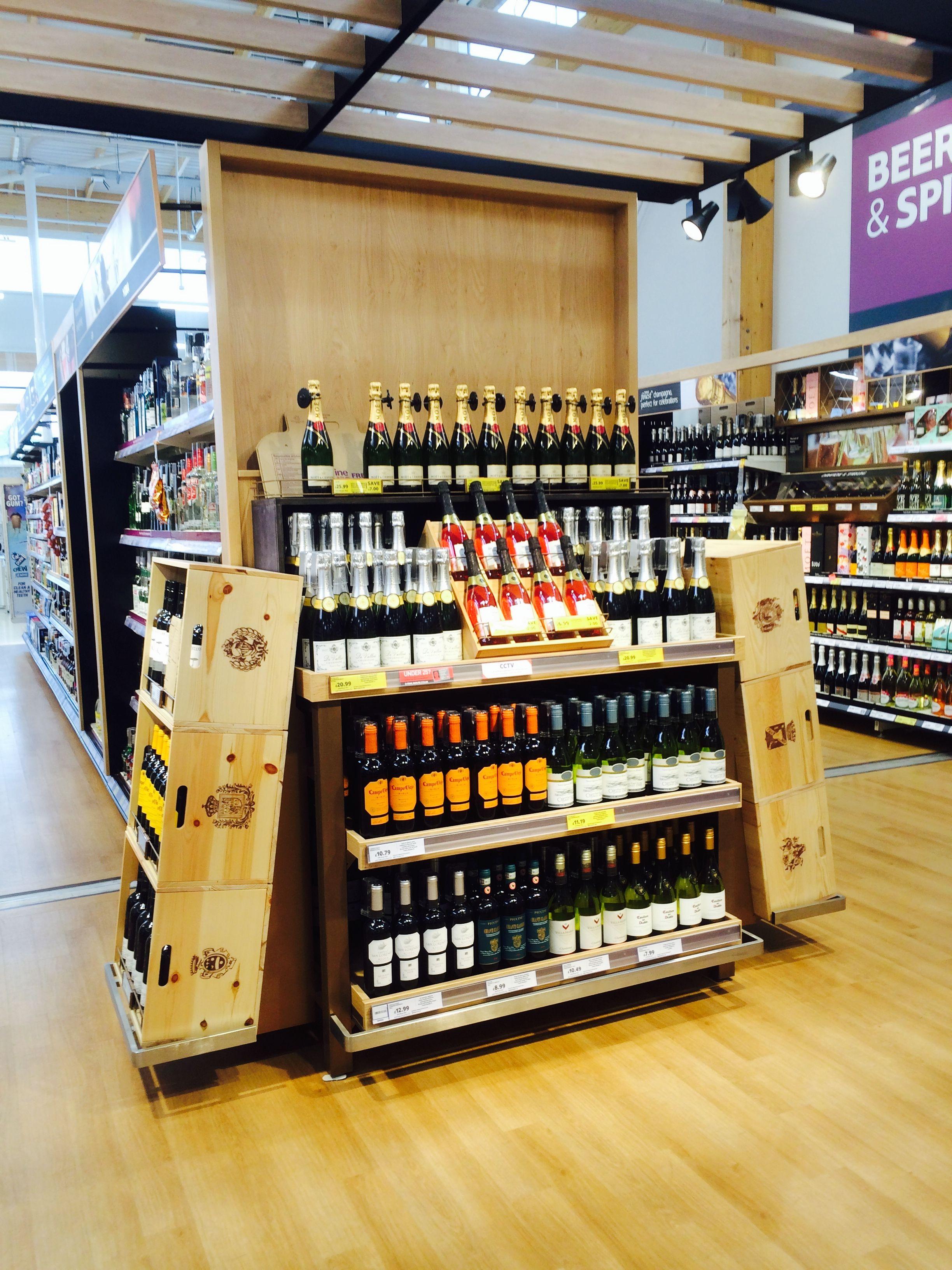 tesco lincoln food new store layout merchandising landscape customer - Beer Merchandiser
