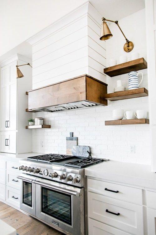 12 inspiring modern farmhouse designs for the perfect kitchen rh ar pinterest com