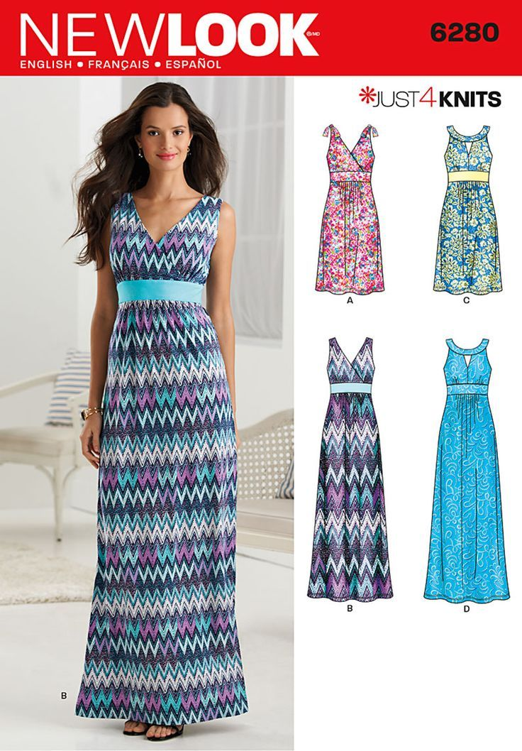 Maxi dress pattern simplicity | patterns | Pinterest | Dress ...