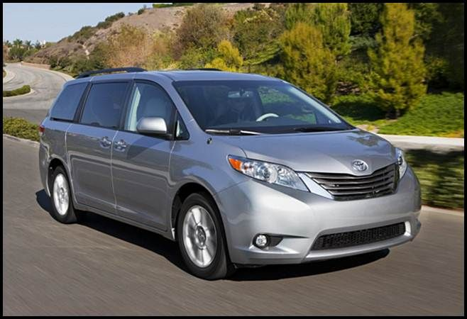 2016 Toyota Sienna XLE AWD Review UK