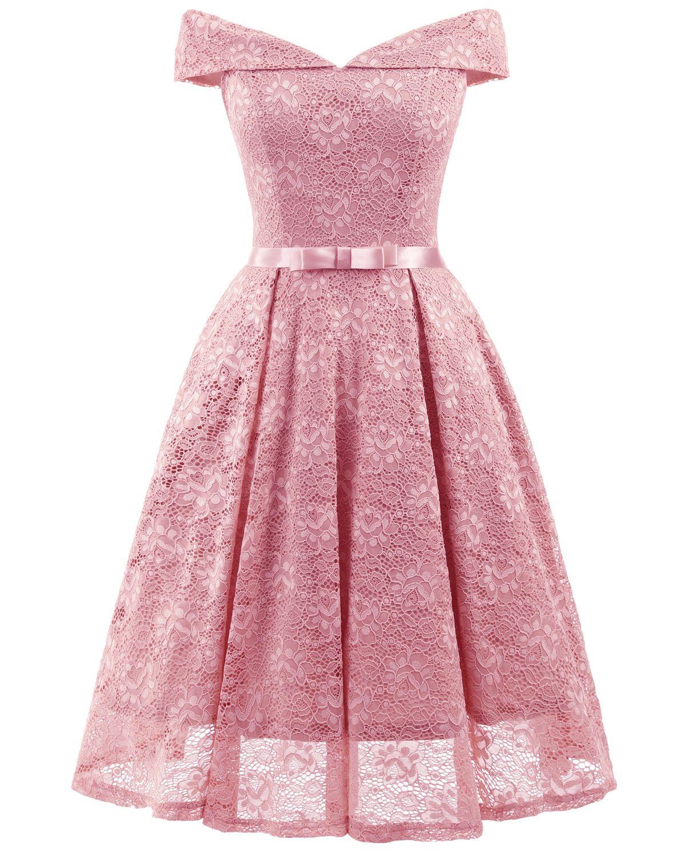 Lace dress 50s  s Style Vintage Lace Retro Rockabilly Party Dress  Dresses