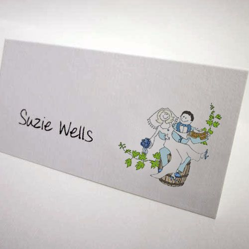 Beer Wedding Placecards Cool Stationery