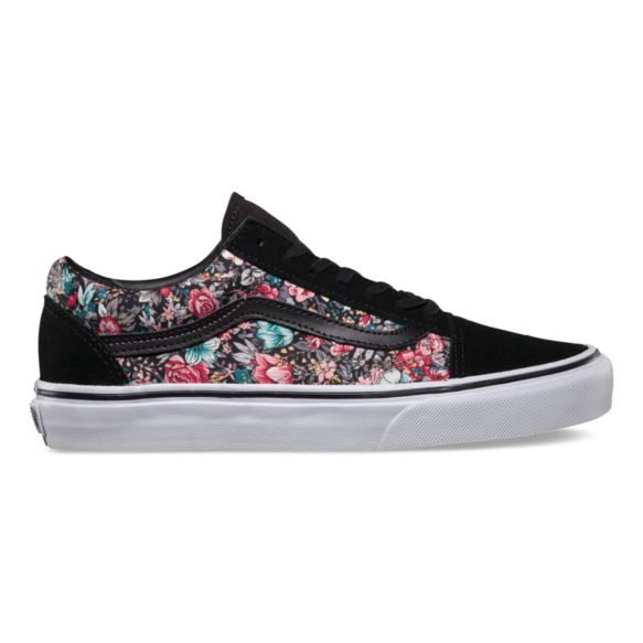 2937fc7515 Multi Floral Old Skool