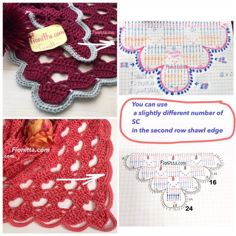 img_4526 | crocheth de fantasia | Pinterest | Chal, Fantasía y Punto ...