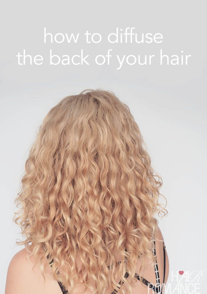 How To Diffuse The Back Of Your Hair Hair Romance Hair Diffuser Hair Questions Hair