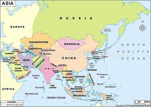 Peta asia sebutkan 5 bangsa yang mendiami asia lain lain asia map with countries map of asia continent clickable to asian countries sciox Image collections