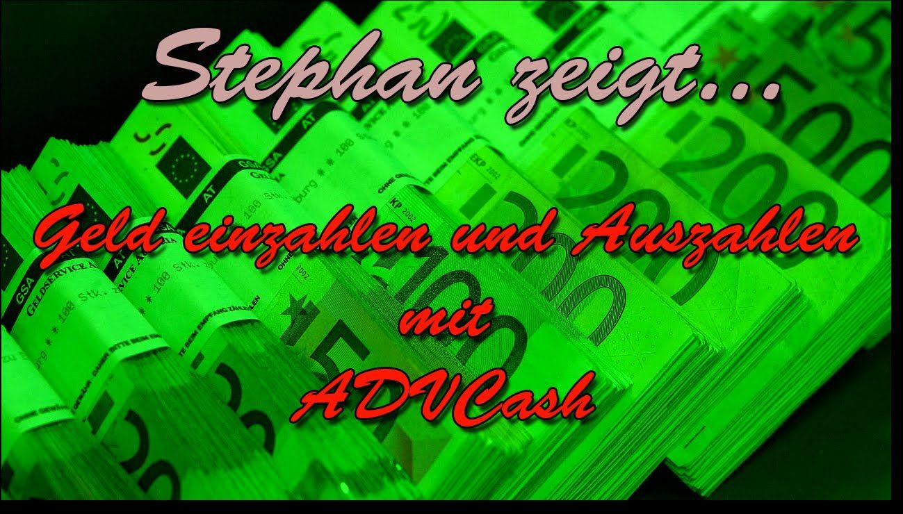 Stephan zeigt - ADVCash - Auszahlung mit Kreditkarte(Deutsch) - Anleitun...