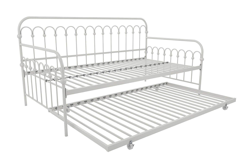 Novogratz Bright Pop Metal Bed, Adjustable