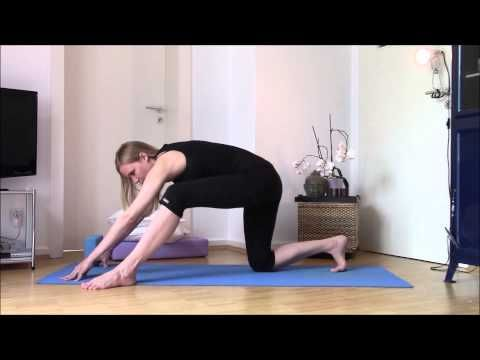 37 prenatal yoga hip opening sequence  youtube