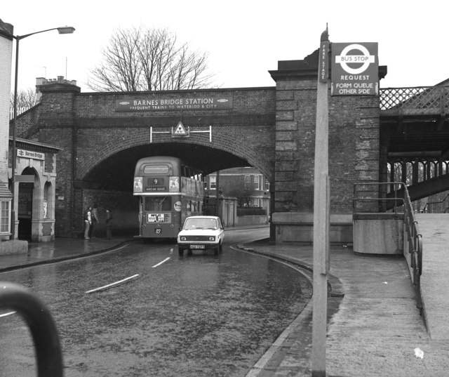 Barnes Railway Bridge over the A3003 - geograph.org.uk ...