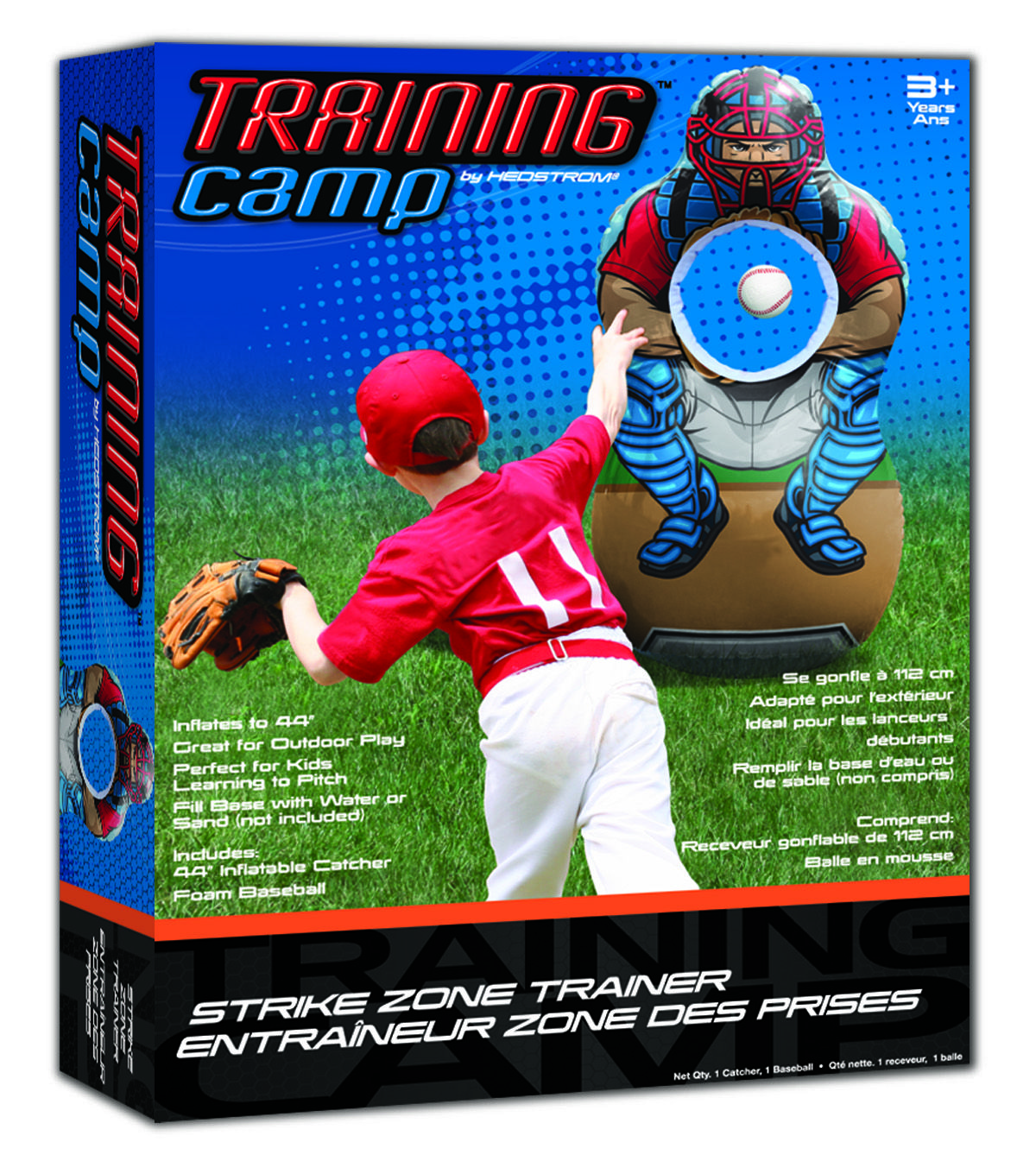 Training Camp Strike Zone Trainer Hedstrom Specialty Storing Kids Clothes Training Camp Inflatable