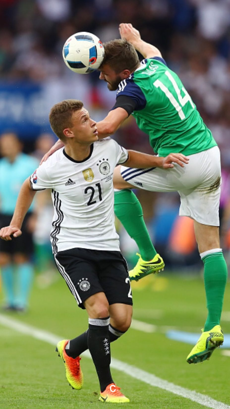 Joshua Kimmich Euro 2016 vs Northern Ireland