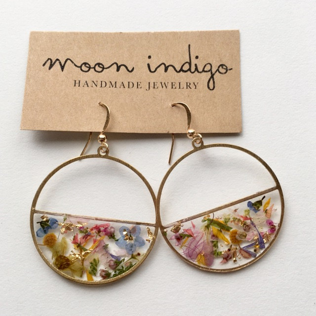 Photo of jewelry for your inner flower child  by moonindigojewelry on Etsy