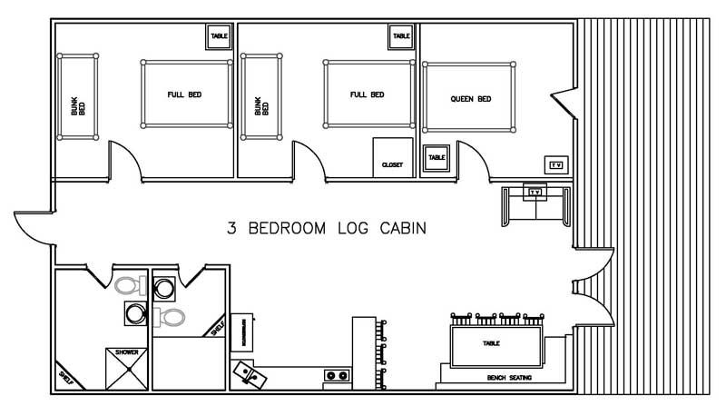 log cabin floor plans with 3 bedrooms trend home design 3 bedroom bath log cabin floor plans