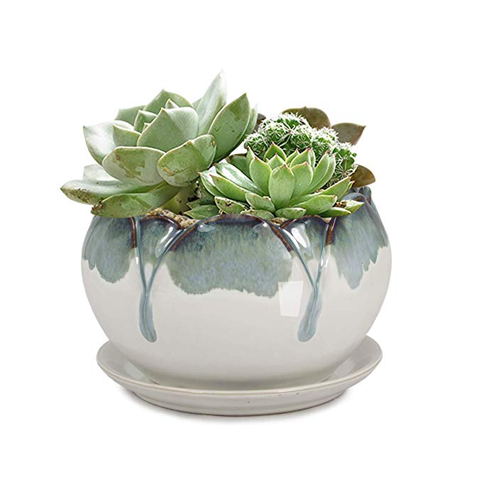 Glazed Ceramic Planter