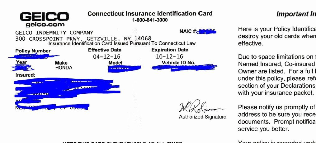Auto insurance card template pdf best of 23 of michigan