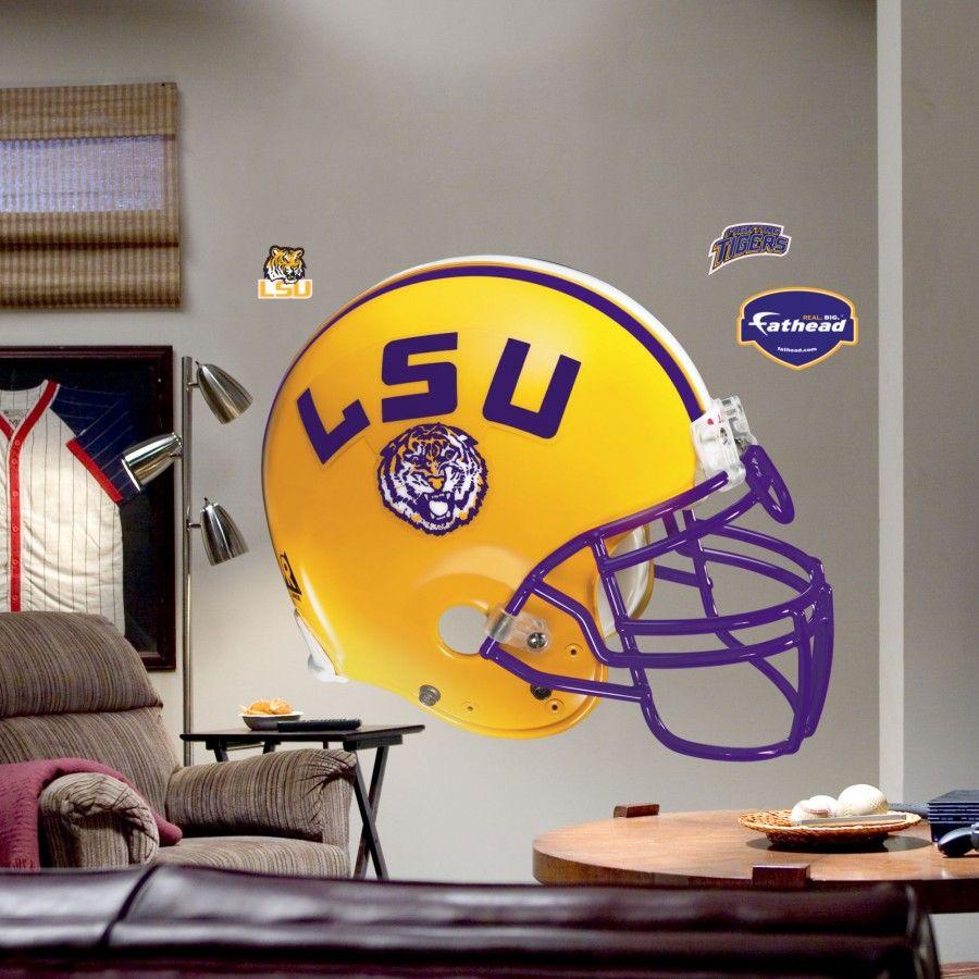 Fathead Louisiana State Helmet Wall Graphic 4140007