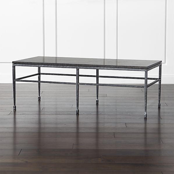 Bastille Granite Coffee Table With Clean Marble Table Tops.