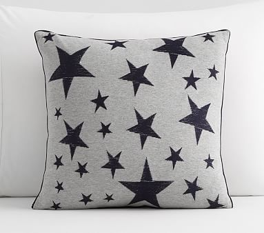 Tyler Sketched Stars Embroidered Decorative Pillow Pottery Barn Fascinating Children's Decorative Pillows